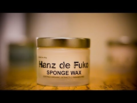 hanz-de-fuko-sponge-wax-(product-review)---men's-hairstyle/hair-tutorial