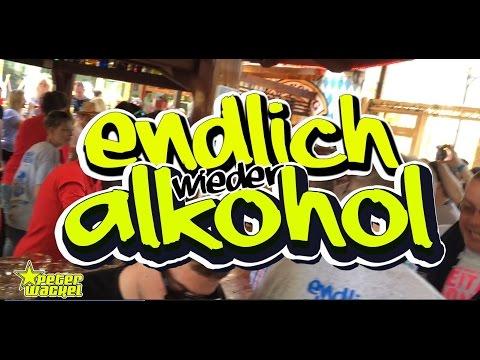 Endlich wieder Alkohol - Peter Wackel (offizielles Video)