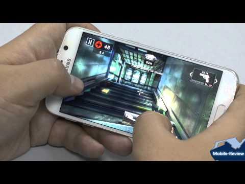 Видеообзор Samsung Galaxy S6   тесты и игры