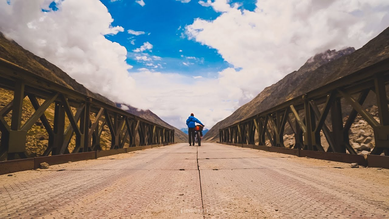 The road ahead movie trailer | Bikepacking Ladakh