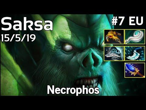 Saksa  Necrophos - Dota 2  7.19