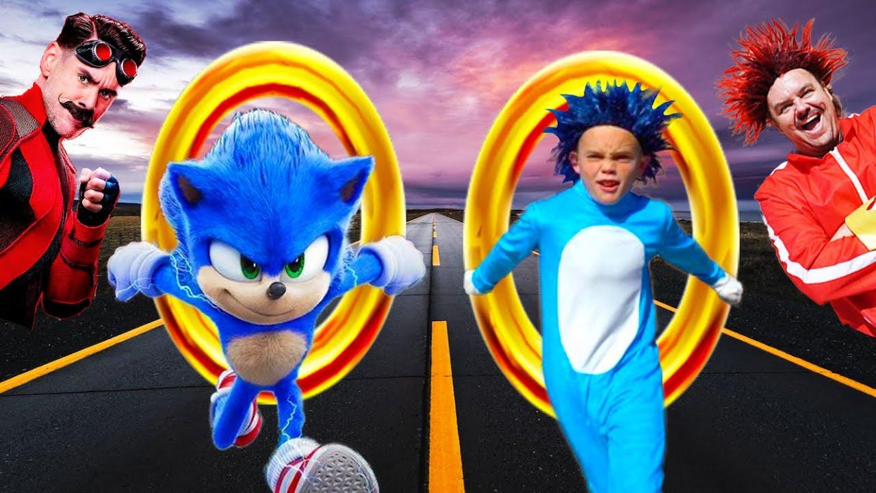 Kids Fun TV Sonic The Hedgehog Compilation Video! Sonic VS Dr. Robotnik & the Flash!