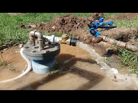 Solar water pumping - Solar powered drip irrigation system-S