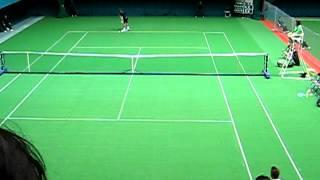 第48回島津全日本室内テニス選手権大会 男子シングルス準決勝 vol.1