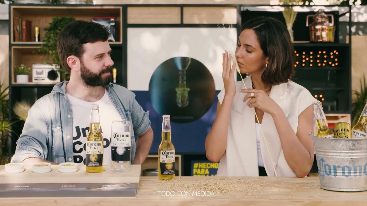 #CatasCorona te invita a percibir la cerveza sensorialmente
