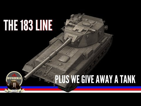 Tech Tree Time the 183 LINE World of Tanks Blitz