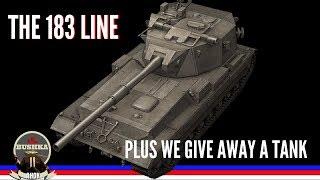 Tech Tree Time the 183 LINE World of Tanks Blitz