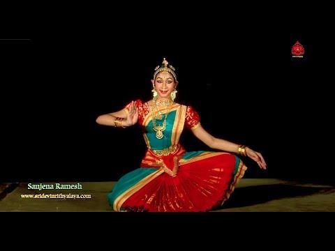 "Popular Keertanam ""Karpagavalli nin""  by Sanjena Ramesh - Sridevi Nrithyalaya - Bharathanatyam Dance"