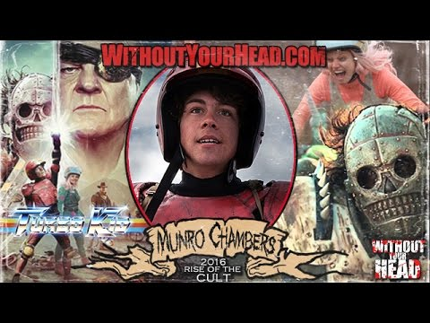 Munro Chambers of Turbo Kid Without Your Head Podcast Interview