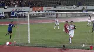 第92回天皇杯3回戦 ガンバ大阪×水戸ホーリーホック。両者無得点が続い...