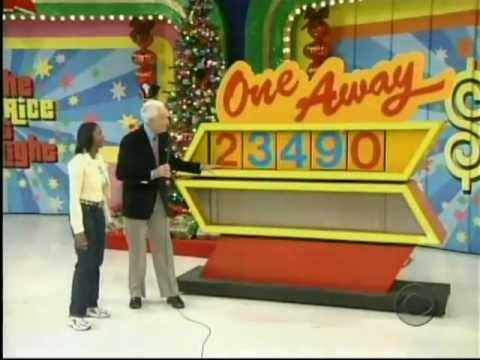 the price is right 12 23 2004 full episode youtube. Black Bedroom Furniture Sets. Home Design Ideas