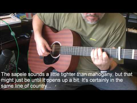 Martin 000RS1 000-RS1 Review and Demo