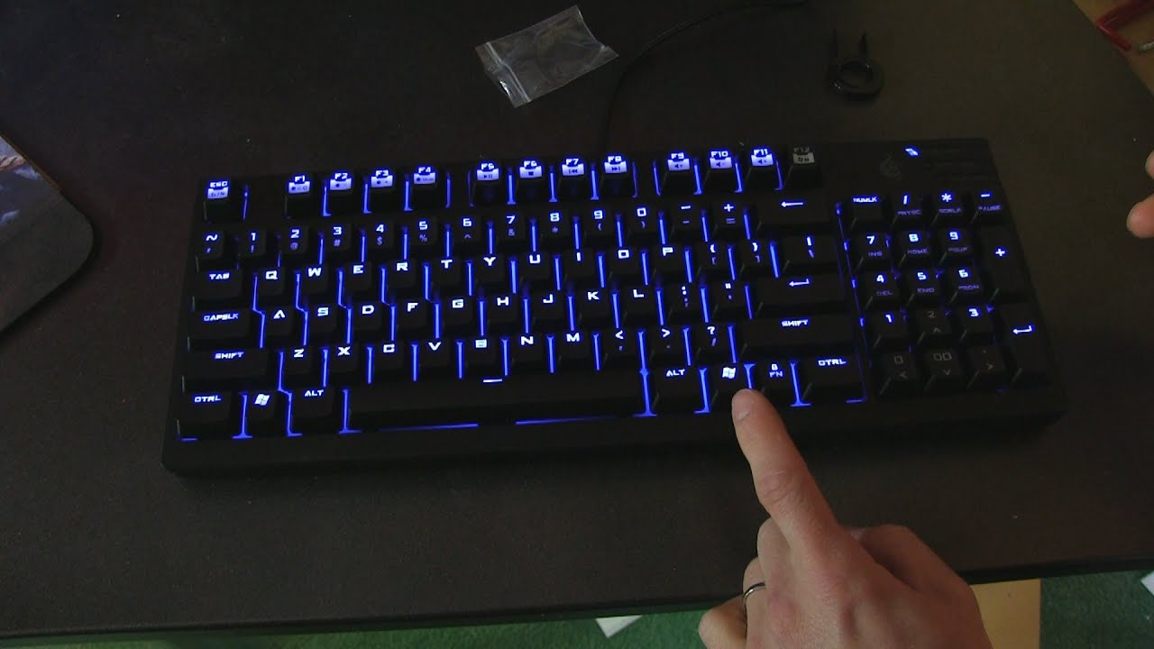 81305ca41cf CM Storm Quickfire TK Mechanical Keyboard Unboxing & First Look Linus Tech  Tips
