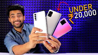 5 BEST SMARTPHONE UNDER Rs 20,000 !!  😍