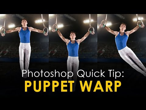 Photoshop Mid-Week, QUICK Tip:  Bend Shapes with Puppet Warp! thumbnail