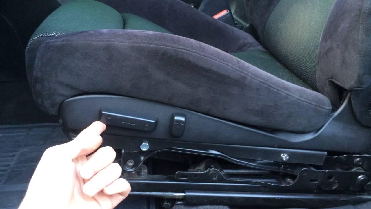 Homemade Recaro Power Seats Driver Seat Ok Youtube