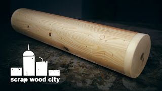 How to make a rainstick on the lathe ( pallet wood project )
