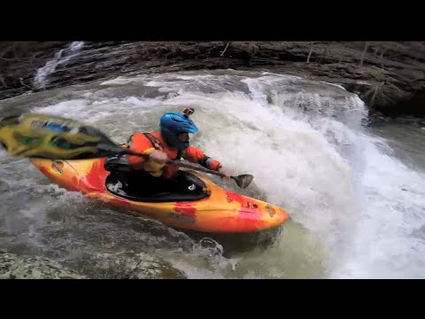 Fast Water Kayaking on Bear Creek