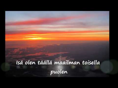Haloo Helsinki - Maailman toisella puolen (lyrics)