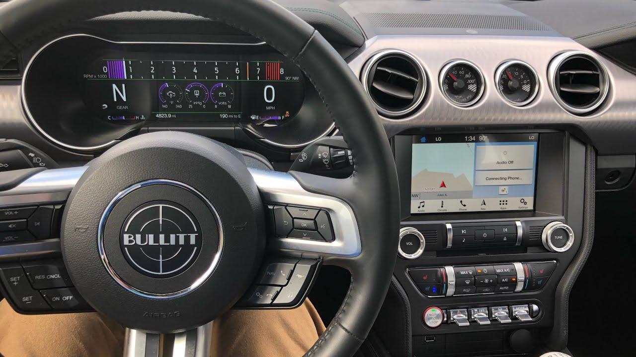 4K 2019 Ford Mustang Bullitt - Track Driving & Quick Review