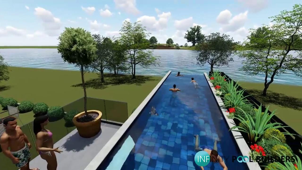 3d Pool Render Brisbane | Virtual Pool Designs - YouTube