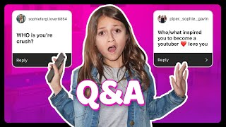 Q AND A CHALLENGE *EXPOSING MYSELF*| Sophie Fergi