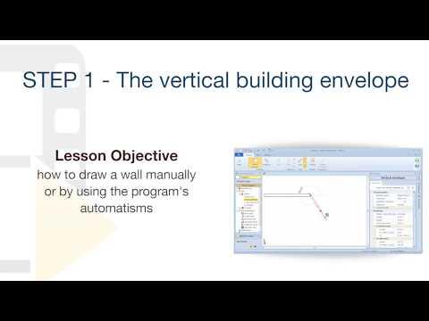 Edificius Tutorial - The vertical Building envelope - ACCA software