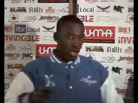 Bashy interview Urban Music Awards 2008