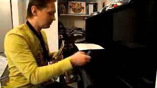 Урок игры на саксофоне с нуля. Урок 1. И всё бесплатно. Альвар.