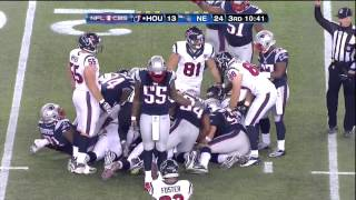 Brandon Spikes fumble dance