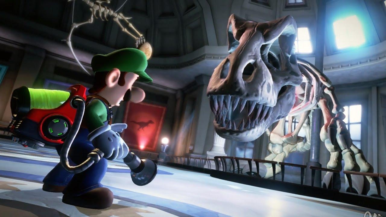 Download Luigi's Mansion 3 - Walkthrough - Part 8 - Unnatural History Museum All Gems