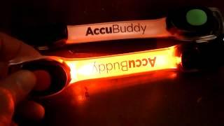 AccuBuddy LED Armband Strobe Lights full look