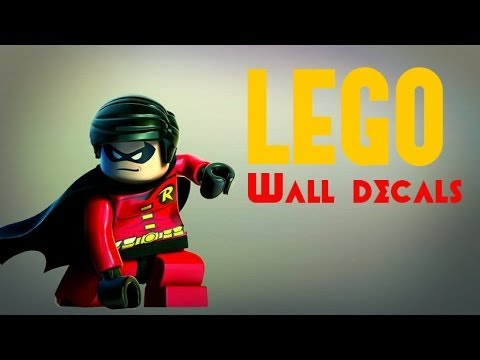 Lego Wall Decals, Stickers And Wallpaper Ideas