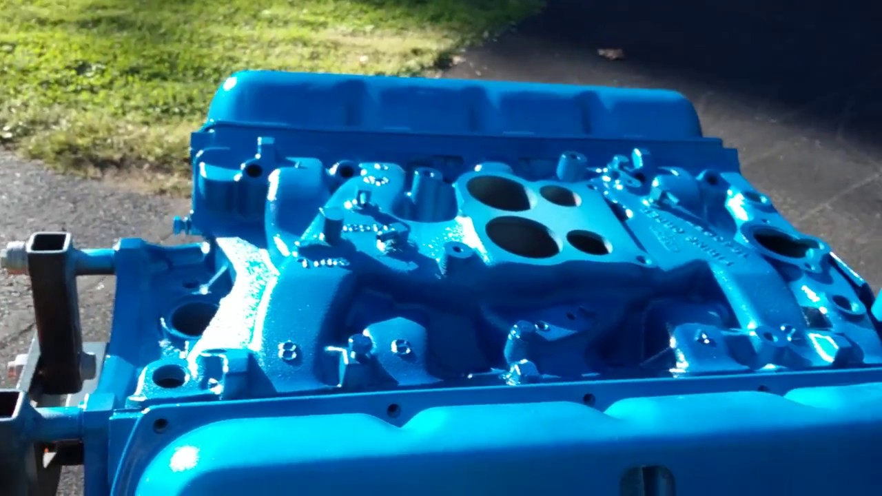 4 Wire Motor Diagram Duplicolor Metalcast Blue Oldsmobile 350 Youtube