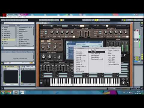 Minimal Tech House bass (Stephan Bodzin, extrawelt, etc) Tutorial