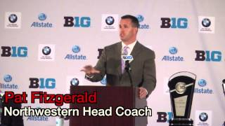 2014 Big Ten Media Days: Conference-Wide Day One Recap