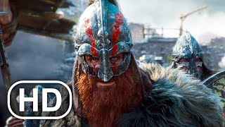 VIKINGS VS SAMURAI Fight Scene Full Battle (2021) For Honor Cinematic 4K ULTRA HD