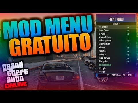 MOD MENU GRATUITO para GTA V ONLINE 1.46