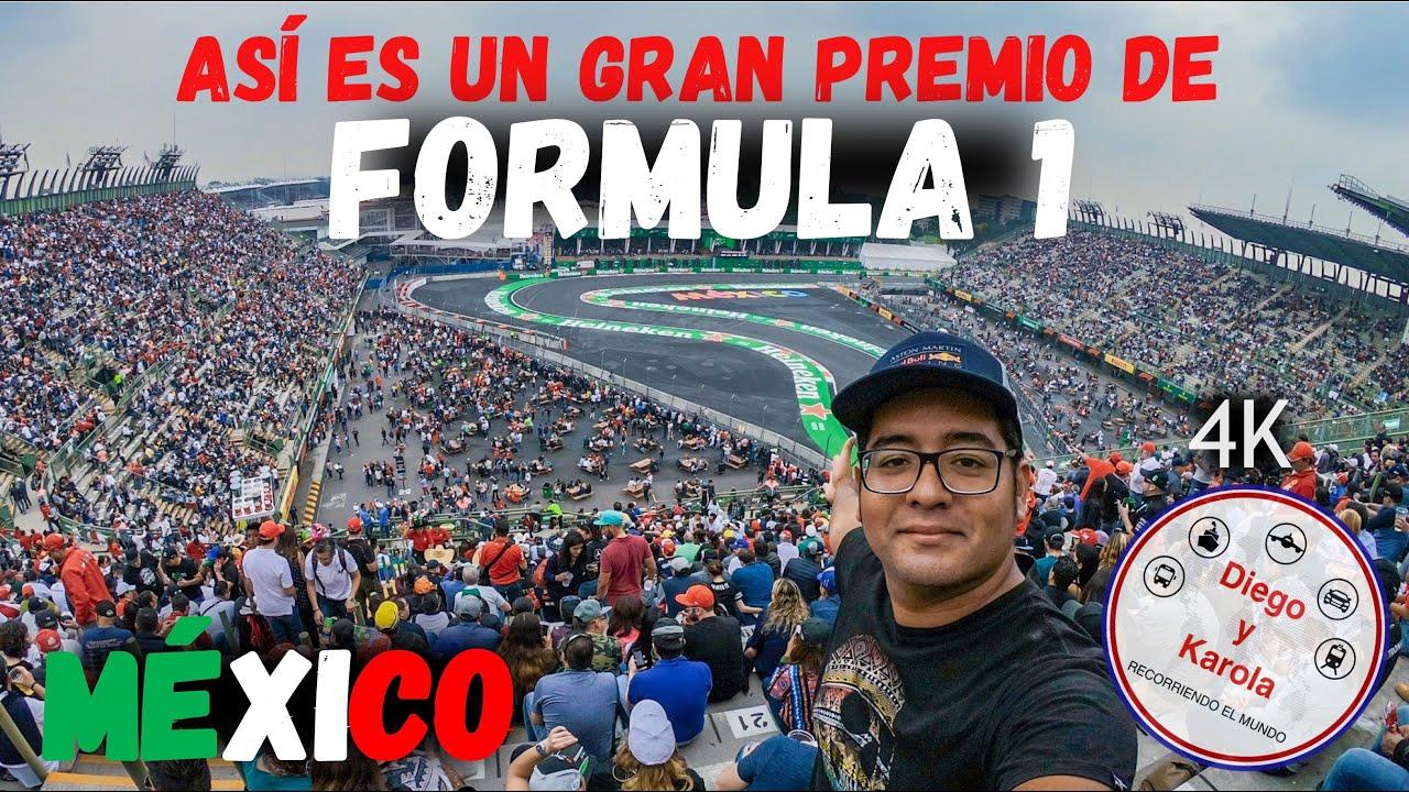 #F1 FORMULA 1, CÓMO ES Y CUÁNTO CUESTA? | MÉXICO | 4K |