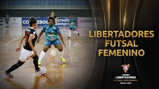 CERRO PORTEÑO (PAR) 1-4 PEÑAROL (URU) | CONMEBOL Libertadores Futsal Femenino 2019