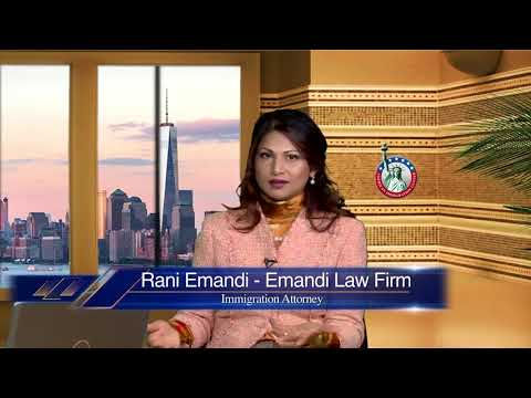 immigration Attorney Rani Emandi Immigration Show TV Asia June 11