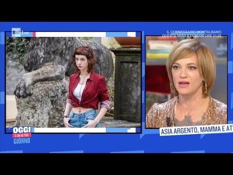 Asia Argento: mamma e attrice - Oggi è un altro giorno 14/09/2020