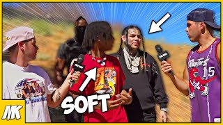 Internet Gangsta Says 6ix9ine Is A Rat And Then…(He Froze Up)