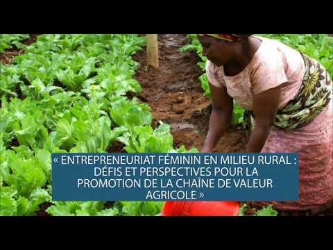 [SPOT] Journée Mondiale de la femme rurale 2017: Entrepreneuriat féminin en milieu rural