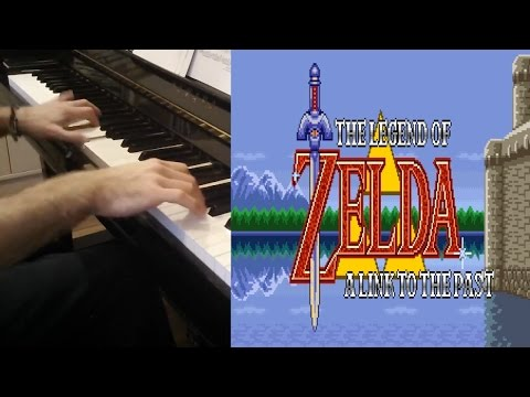 The Legend of Zelda: A Link to the Past COMPLETE Soundtrack for Piano