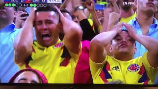 Columbia - Chile [Penalty Shootout][Copa America Quarter Final
