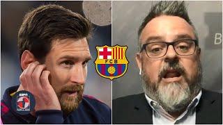 BARCELONA ¿Messi estaría reconsiderando su postura? 'Su estrategia ha sido mala' | Fuera de Juego