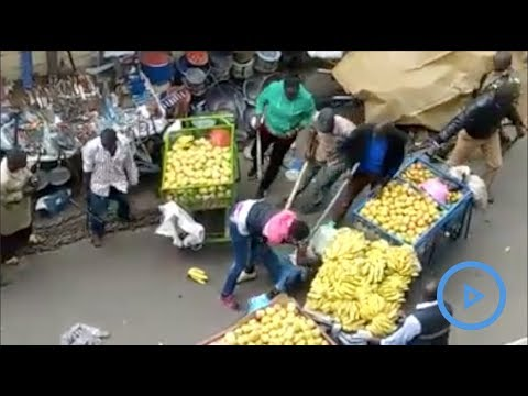 Shocking Police and county officers brutality against hawkers in Uasin Gishu county condemned
