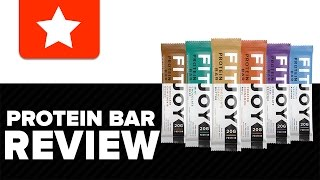 FitJoy Nutrition | Protein Bar Review