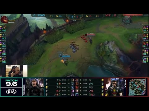 [PapaSmithy VOD Review] Fnatic vs. Team Vitality Game 1 LEC Spring Playoffs 2019
